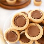 Muffin Tin Peanut Butter Cup Cookies
